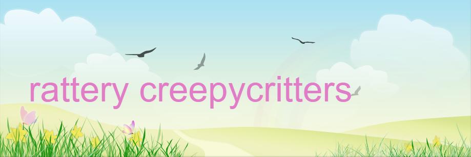 Rattery Creepycritters te Alphen aan de Rijn (ZH)